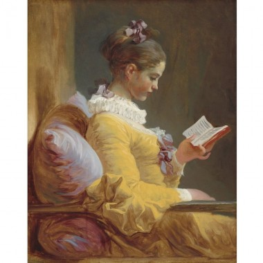 INVERTIDO. Young girl reading